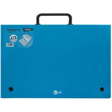 """Папка-портфель 13 отделений Berlingo """"Skyline"""", А4, 328*285мм, 700мкм, синяя"""