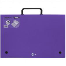 """Папка-портфель 13 отделений Berlingo """"Skyline"""", А4, 328*285мм, 700мкм, фиолетовая"""