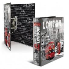 Папка-регистратор, картон, A4, 70мм, Herma «Лондон»