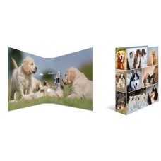 Папка-регистратор, картон, A4, 70мм., Herma «Собаки»