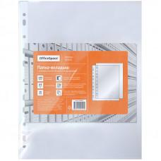 Папка-вкладыш с перфорацией OfficeSpace, А4, 35мкм, глянцевая