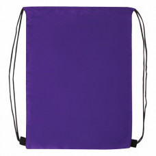 Сумка для обуви BRAUBERG ПРОЧНАЯ, на шнурке, фиолетовая, 42x33 см