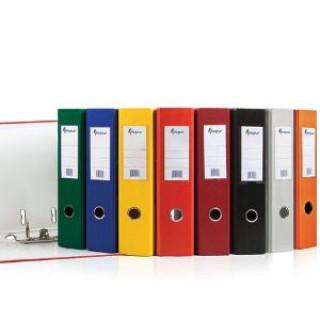 Папка-сегрегатор FORPUS Basic, А4, 70мм, ПВХ-ЕСО, серый