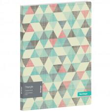 """Папка с 30 вкладышами Berlingo """"Triangle"""", 17мм, 600мкм, с внутр. карманом, с рисунком"""