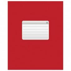 """Тетрадь 48 л., HATBER VK, клетка, обложка мелованный картон, """"ТЕТРАДЬ - Красная"""""""