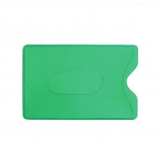 Обложка-карман для карт и пропусков ДПС 64*96мм, ПВХ, зеленый