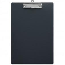 Планшет с зажимом OfficeSpace А4, ПВХ, черный