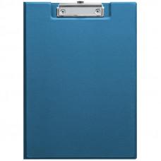 Папка-планшет с зажимом OfficeSpace, ПВХ, синий