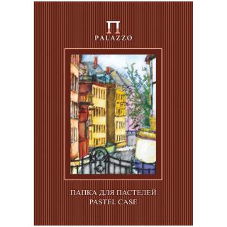 """Папка для пастелей 10л. А4 Лилия Холдинг """"Палаццо.Италия"""", 280г/м2, рисов. бумага, слоновая кость"""