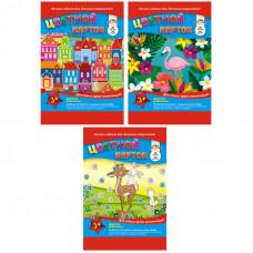 Картон цветной А4, Апплика, 20л., 10цв., немелованный, на гребне, ассорти