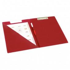 Папка-планшет BRAUBERG, с верхним прижимом и крышкой А4