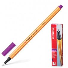 """Ручка капиллярная STABILO """"Point"""", толщина письма 0,4 мм, сиреневая"""