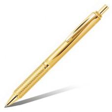 """Гелевая ручка Pentel """"Energel Sterling"""", металлический золотой корпус, черный стержень, 0.7 мм"""