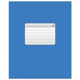 """Тетрадь 48 л., HATBER VK, клетка, обложка мелованный картон, """"ТЕТРАДЬ - Синяя"""""""