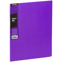 """Папка с 20 вкладышами Berlingo """"Color Zone"""", 14мм, 600мкм, фиолетовая"""