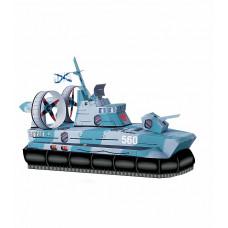 Сборная модель из картона ''Катер на воздушной подушке''