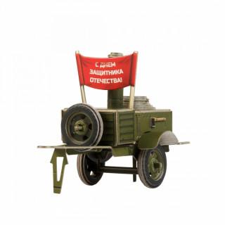 """Сборная модель из картона """"Полевая кухня. КП-41"""""""