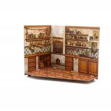"""Сборная модель из картона Румбокс """"Кухня"""""""