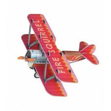 Сборная игровая модель из картона ''Самолетик (красный)''