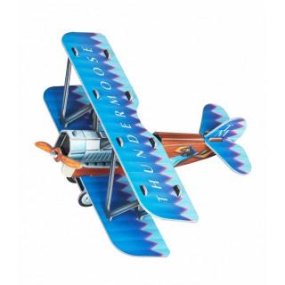 Сборная игровая модель из картона ''Самолетик (Синий)''