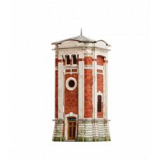 Сборная модель из картона ''Водоёмное здание''