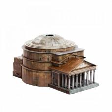 """Сборная модель из картона """"Пантеон"""", масштаб 1/400."""