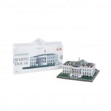 """Сборная модель из картона """"Белый дом"""""""