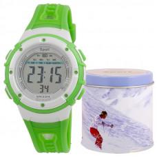 """Часы детские """"Sport"""", зеленые"""