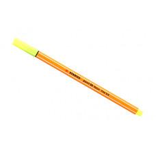 Линер Stabilo Point 88 (неоновый желтый)