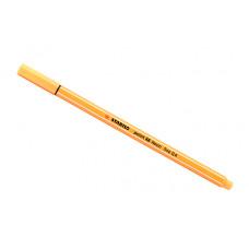Линер Stabilo Point 88 (неоновый оранжевый)