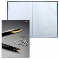 """Блокнот 7БЦ, А4, 120 л., обложка ламинированная, 5-цветный блок, HATBER, """"Office Book"""", 205х290 мм"""