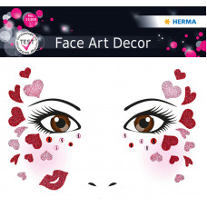 "HERMA 15309 НАКЛЕЙКИ FACE ART ""Love"""
