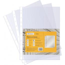 Папка-вкладыш с перфорацией OfficeSpace, А4, 30мкм, глянцевая