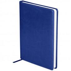 """Ежедневник датированный 2021г., A5, 176л., кожзам, OfficeSpace """"Nebraska"""", синий"""