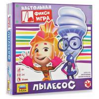 """Игра-ходилка настольная детская """"Фиксики. Пылесос"""" Zvezda"""