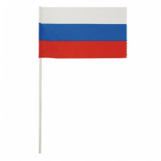 Флаг РФ шелк 15х25 см