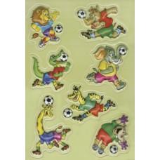 """Наклейки HERMA  """"Африканский футбол"""""""