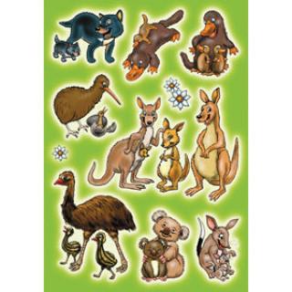 """Наклейки HERMA """"Австралийские животные"""""""