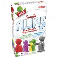 """Игра настольная """"Alias """"СКАЖИ ИНАЧЕ. Для всей семьи"""", компактная версия, TACTIC"""