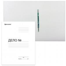 Скоросшиватель картонный BRAUBERG, гарантированная плотность 300 г/м2, до 200 листов