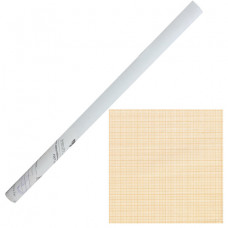 Бумага масштабно-координатная, рулон 878 мм х 10 м, оранжевая