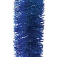 Мишура 1 штука, диаметр 100 мм, длина 2 м, синяя
