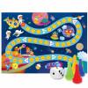 Игра-ходилка с фишками для малышей. В космосе.