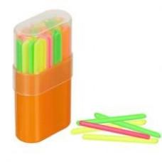 Счетные палочки, 50 шт., пластик. пенал