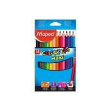 "Карандаши цветные MAPED ""COLOR'PEPS MAX"" 12 цв."