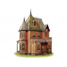 """Сборная модель из картона """"Кукольный дом"""""""