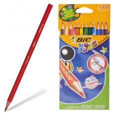 Карандаши цветные пластиковые BIC Evolution, 12цв., заточ.