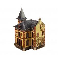 "Сборная модель из картона ""Вилла в Виллемомбле"", масштаб HO 1/87."