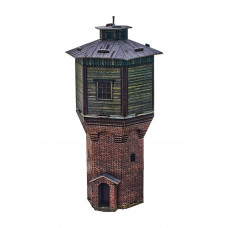"Сборная модель из картона ""Водонапорная башня"", мастаб HO 1/87."
