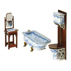 """Сборная модель из картона """"Ванная комната"""""""